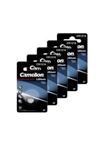 Camelion 5x CR1216 Knopfzelle (29 mAh)