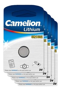 Camelion 5x CR1632 Knopfzelle (130 mAh)