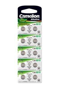 Camelion 10x LR54 Knopfzelle (44 mAh)